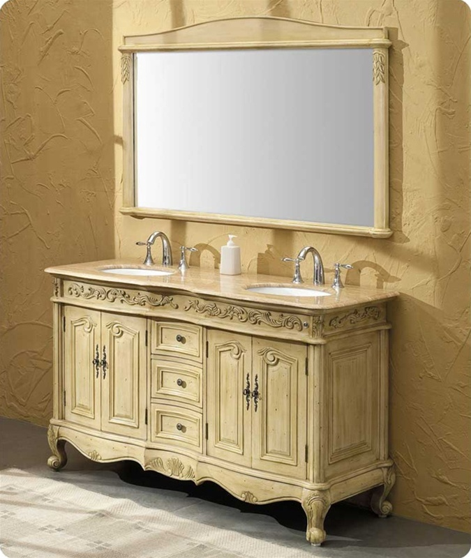 58inch bowman vanity antique white vanity antique white sink for 58 inch double bathroom vanity