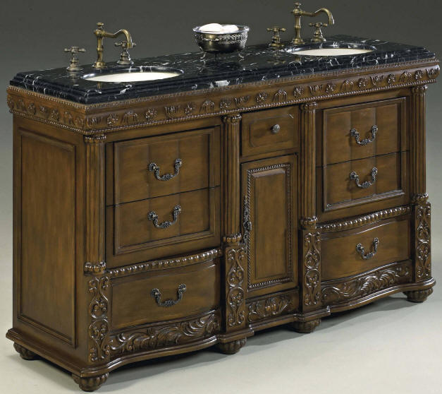 60 69 Inch Vanities Double Bathroom Vanities Double