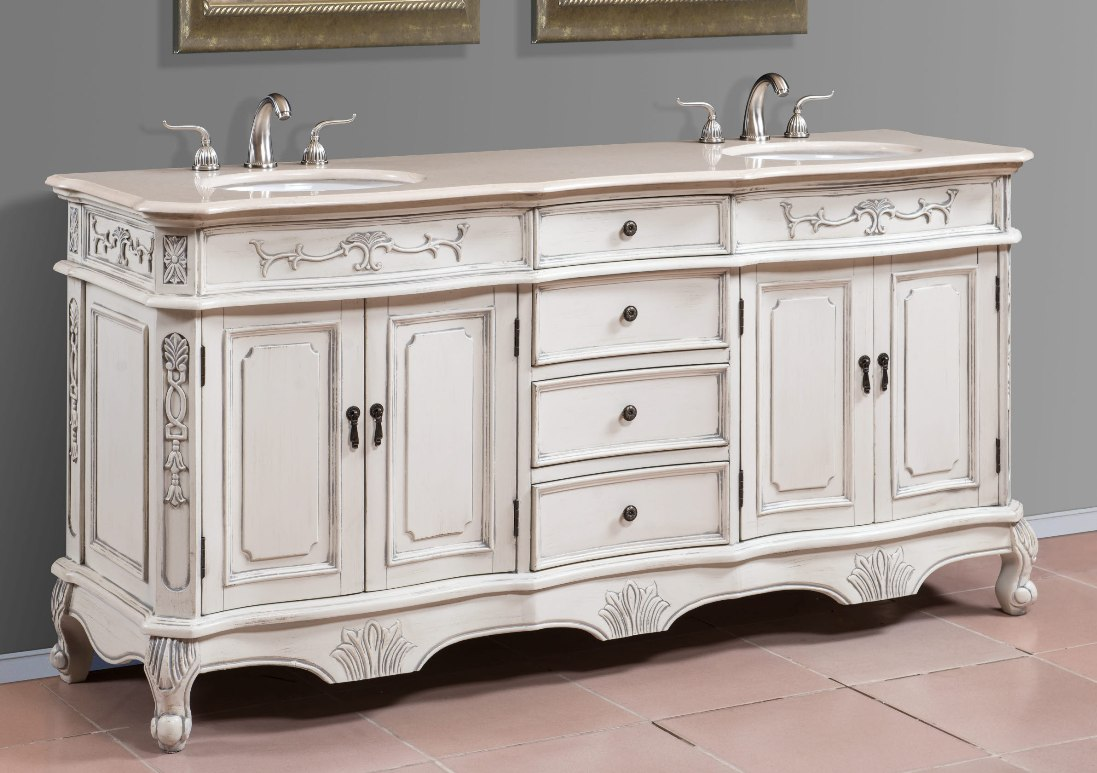 Double sink vanities large bathroom vanities double - 72 inch bathroom vanity double sink ...